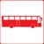 Picto représentant un bus shématisé