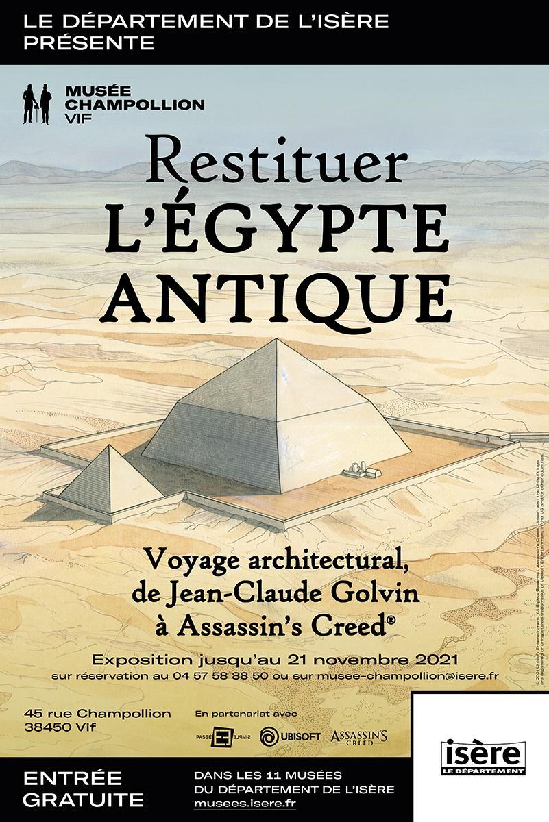 "Exposition ""Resituer l'Egypte antique"""